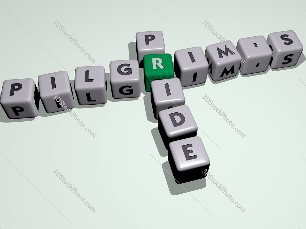 Pilgrim's pride crossword by cubic dice letters