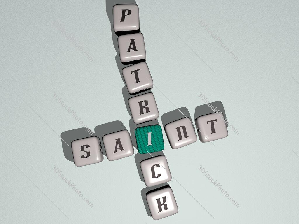 saint patrick crossword by cubic dice letters