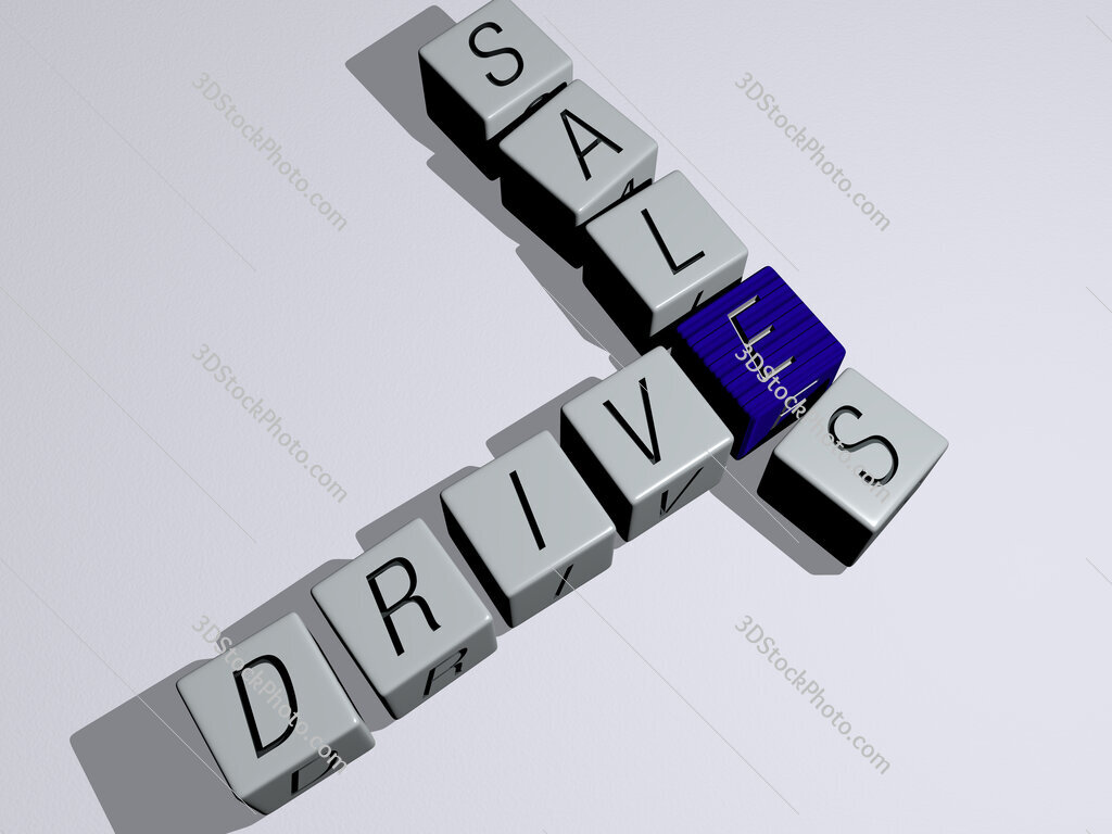 drive sales crossword by cubic dice letters