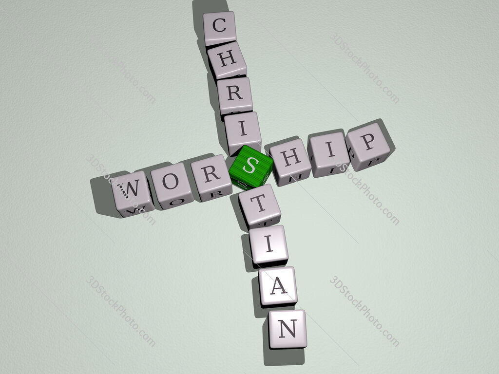 worship christian crossword by cubic dice letters