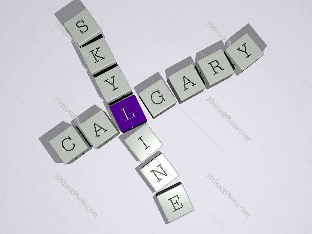 calgary skyline crossword by cubic dice letters