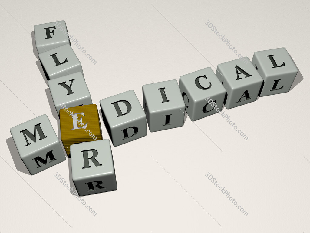 medical flyer crossword by cubic dice letters