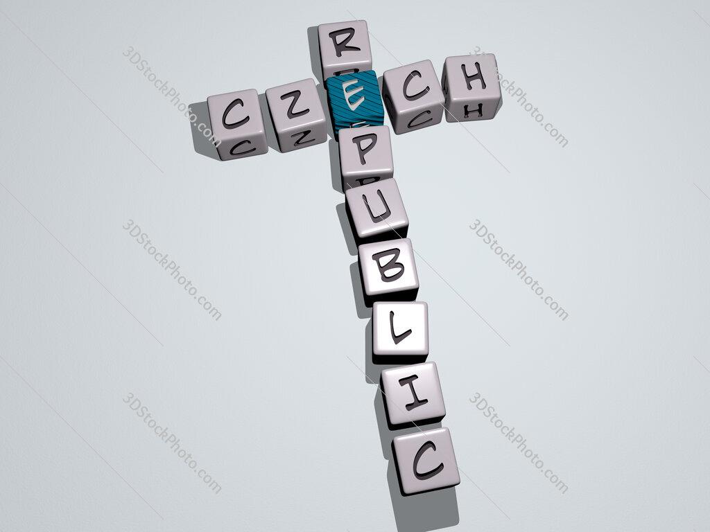 czech republic crossword by cubic dice letters