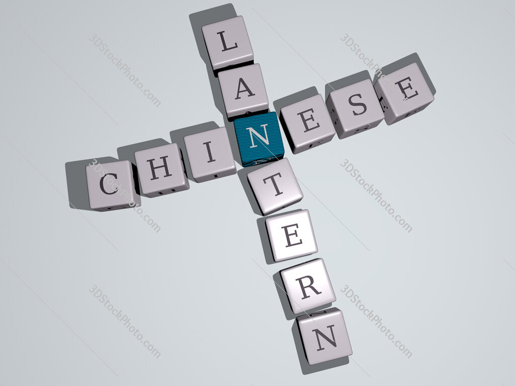 chinese lantern crossword by cubic dice letters