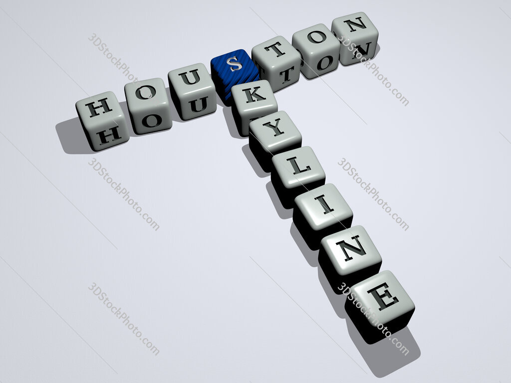 houston skyline crossword by cubic dice letters