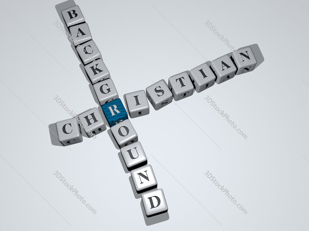 christian background crossword by cubic dice letters