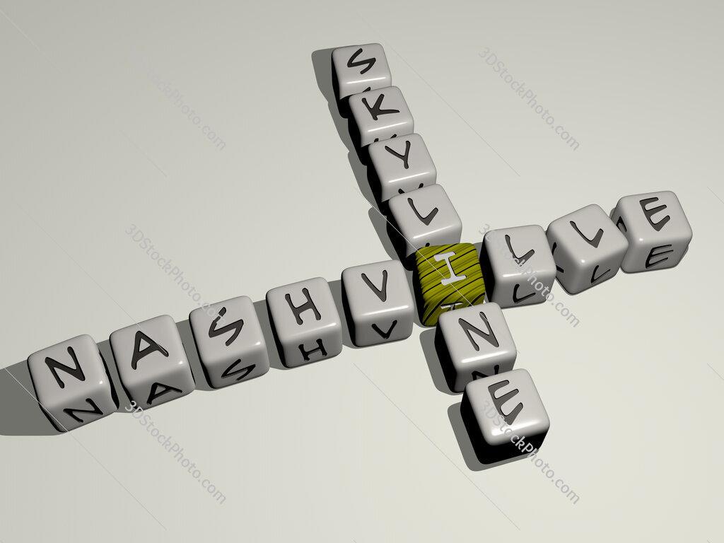 nashville skyline crossword by cubic dice letters