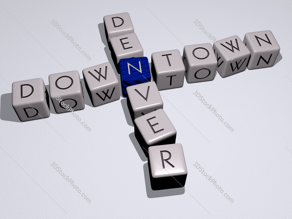 downtown denver crossword by cubic dice letters