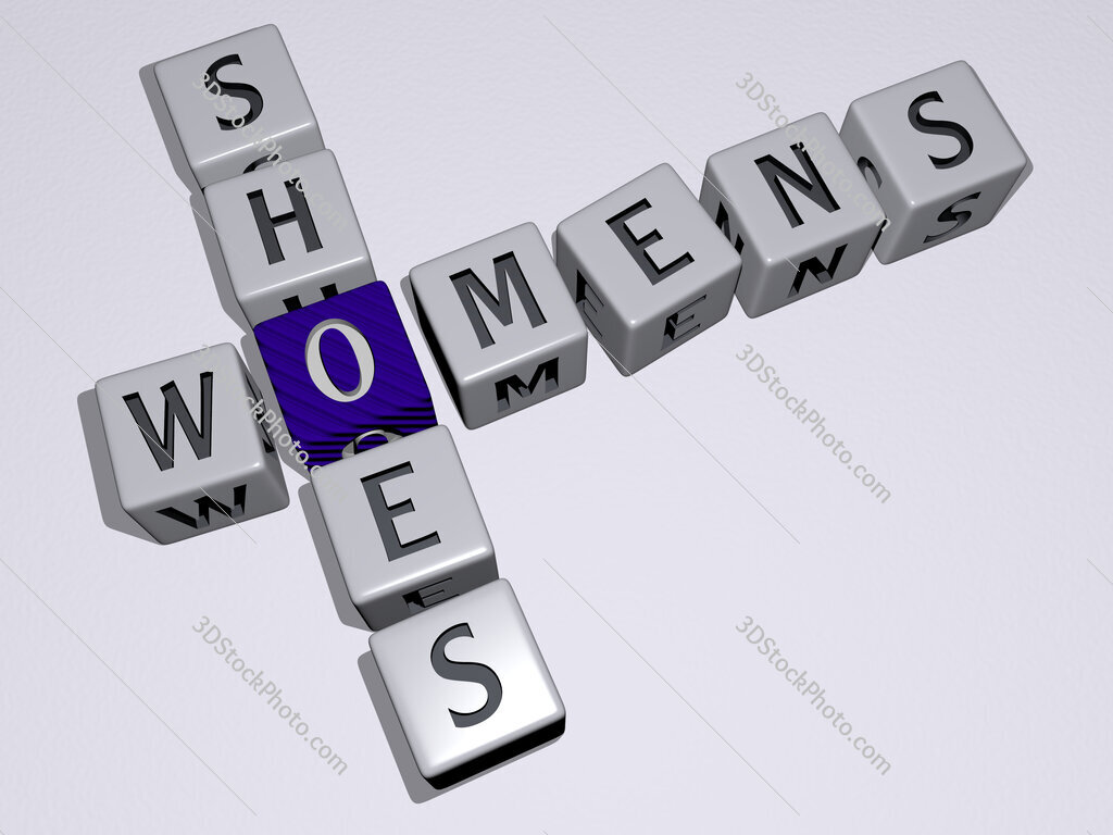 womens shoes crossword by cubic dice letters