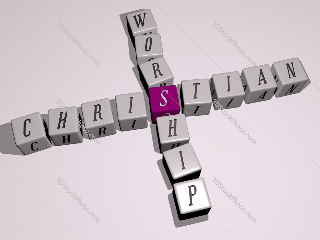christian worship crossword by cubic dice letters