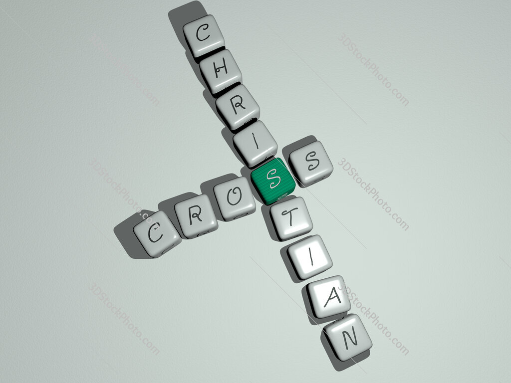 cross christian crossword by cubic dice letters
