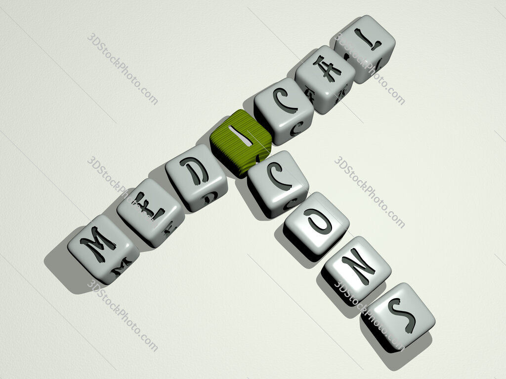 medical icons crossword by cubic dice letters