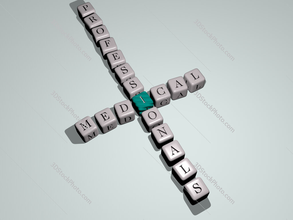 medical professionals crossword by cubic dice letters