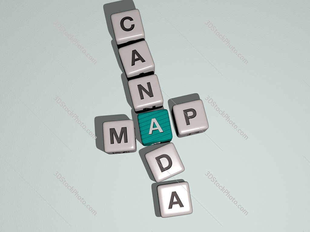 map canada crossword by cubic dice letters