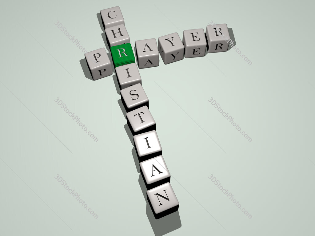 prayer christian crossword by cubic dice letters
