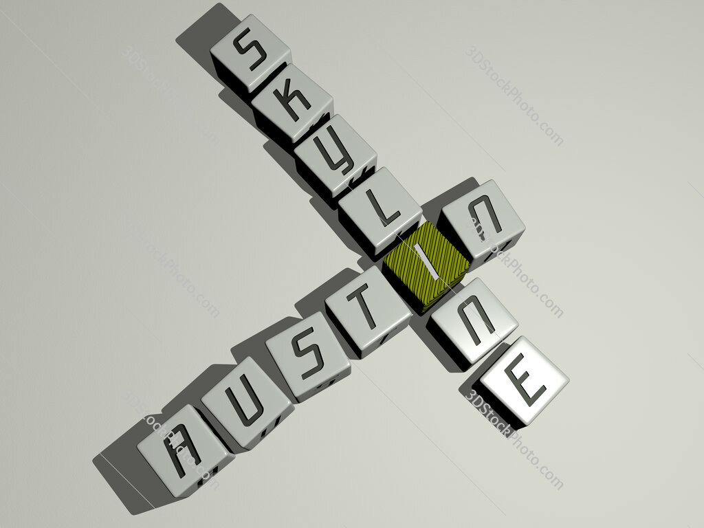 austin skyline crossword by cubic dice letters
