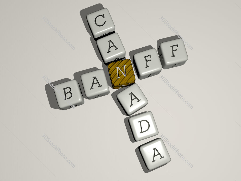 banff canada crossword by cubic dice letters