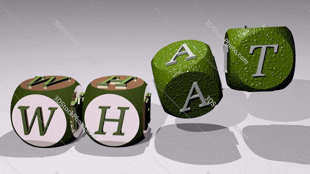 what text by dancing dice letters