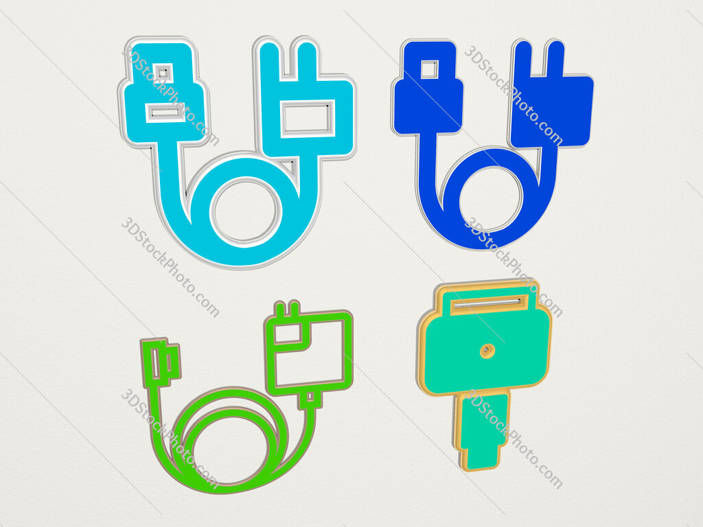 magsafe 4 icons set