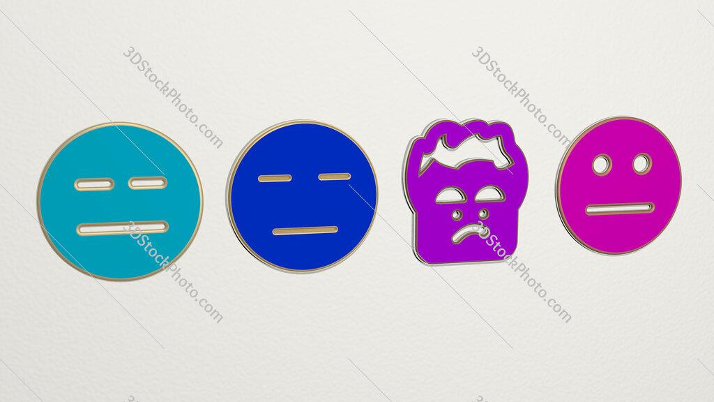 sceptic 4 icons set