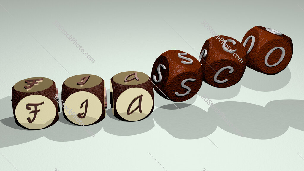 fiasco text by dancing dice letters