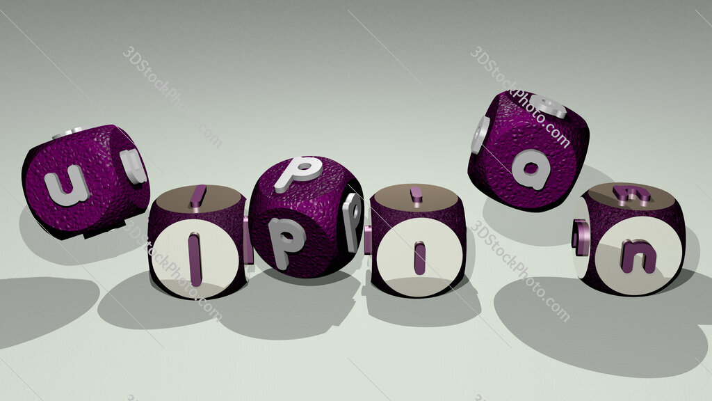 Ulpian text by dancing dice letters