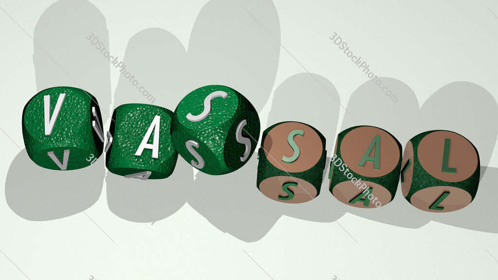vassal text by dancing dice letters
