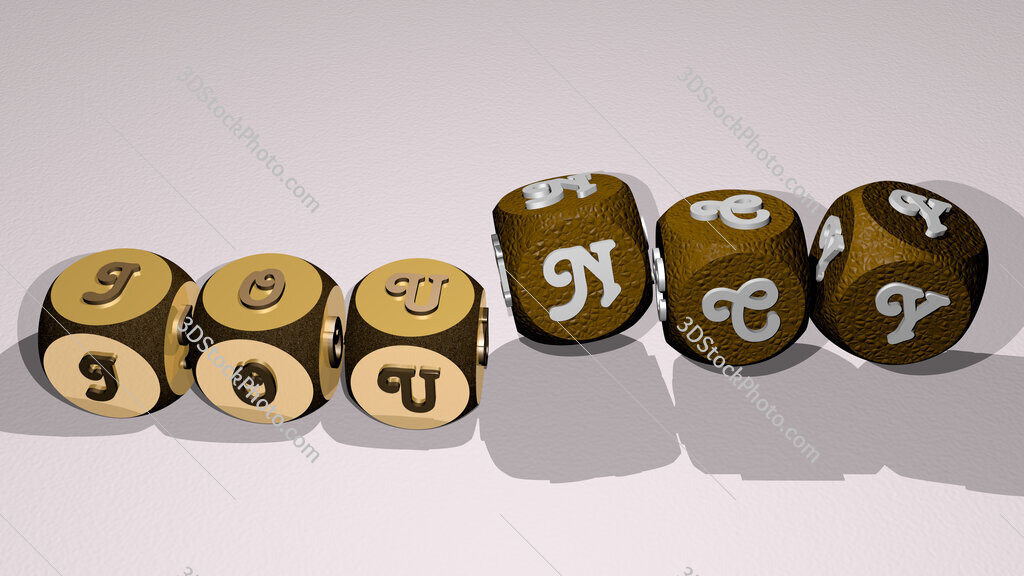 jouncy text by dancing dice letters