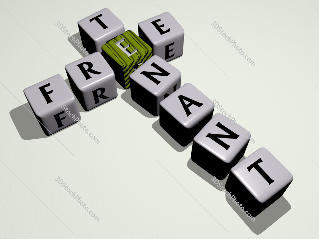 Free tenant crossword by cubic dice letters