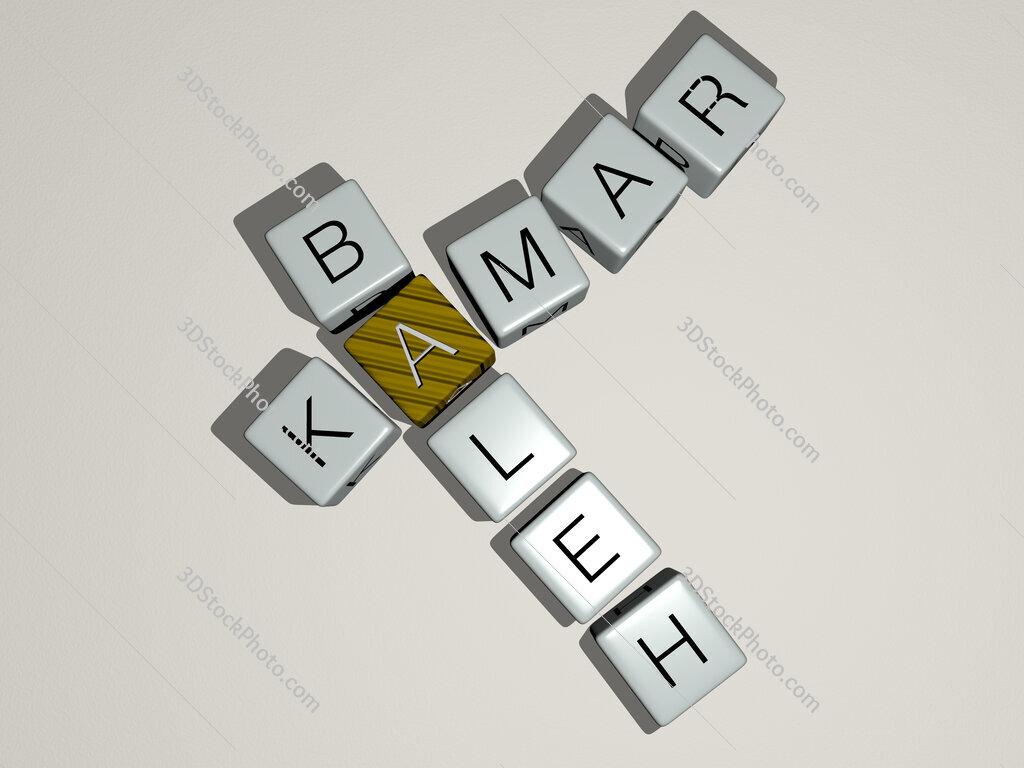 Kamar Baleh crossword by cubic dice letters