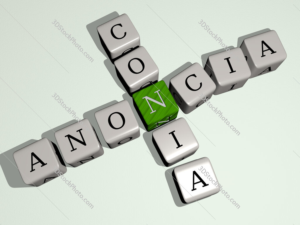 Anoncia conia crossword by cubic dice letters
