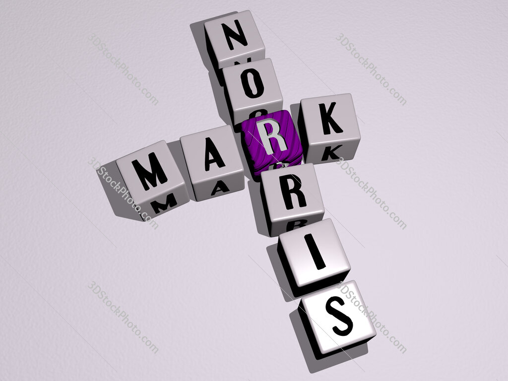 Mark Norris crossword by cubic dice letters