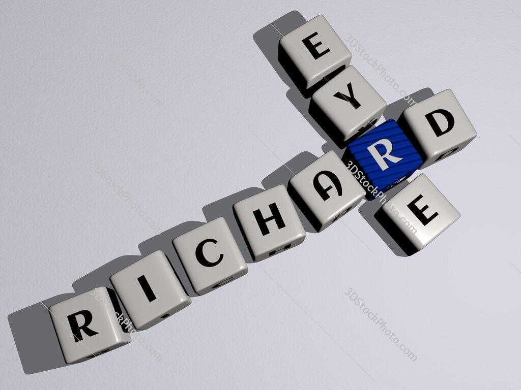 Richard Eyre crossword by cubic dice letters