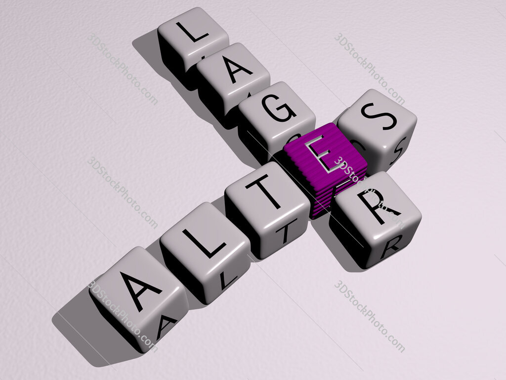 Altes Lager crossword by cubic dice letters
