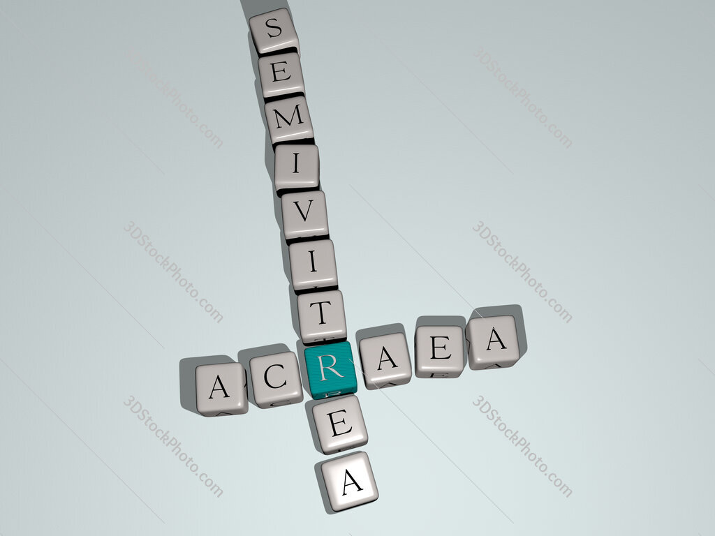 Acraea semivitrea crossword by cubic dice letters