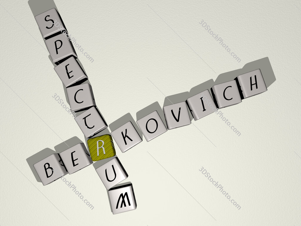 Berkovich spectrum crossword by cubic dice letters