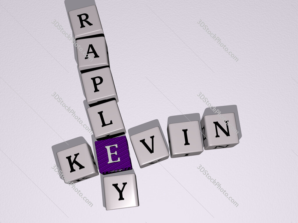 Kevin Rapley crossword by cubic dice letters