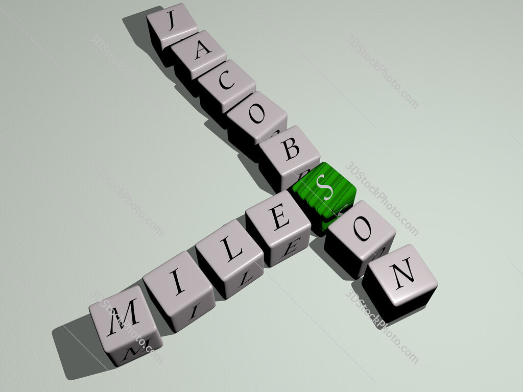 Miles Jacobson crossword by cubic dice letters