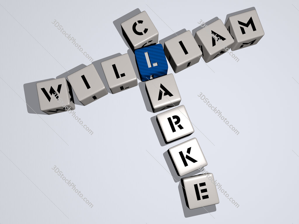William Clarke crossword by cubic dice letters