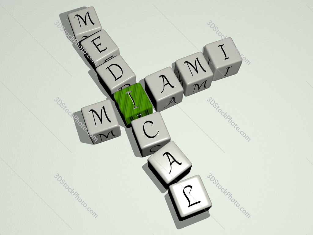 Miami Medical crossword by cubic dice letters