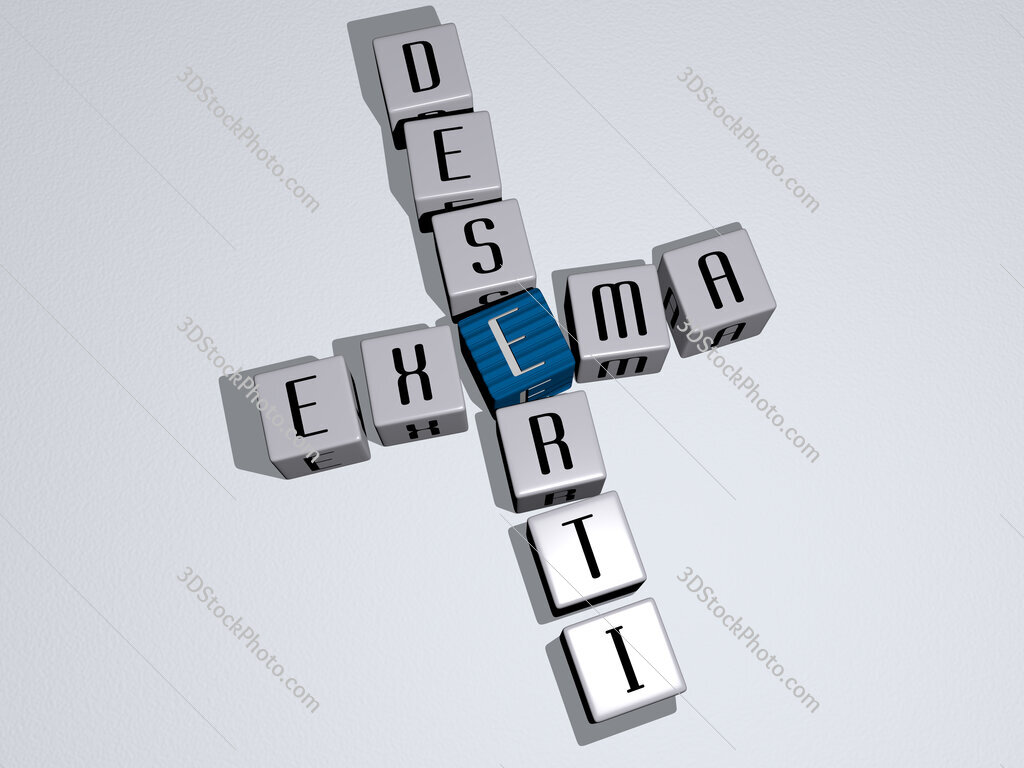 Exema deserti crossword by cubic dice letters