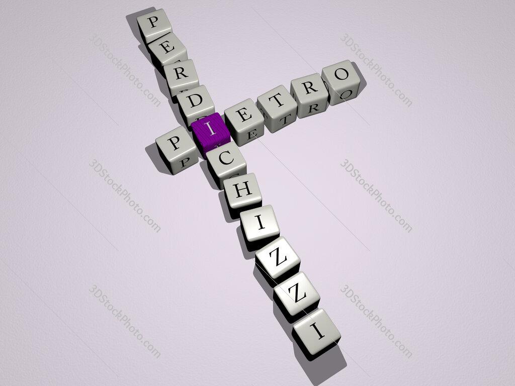 Pietro Perdichizzi crossword by cubic dice letters