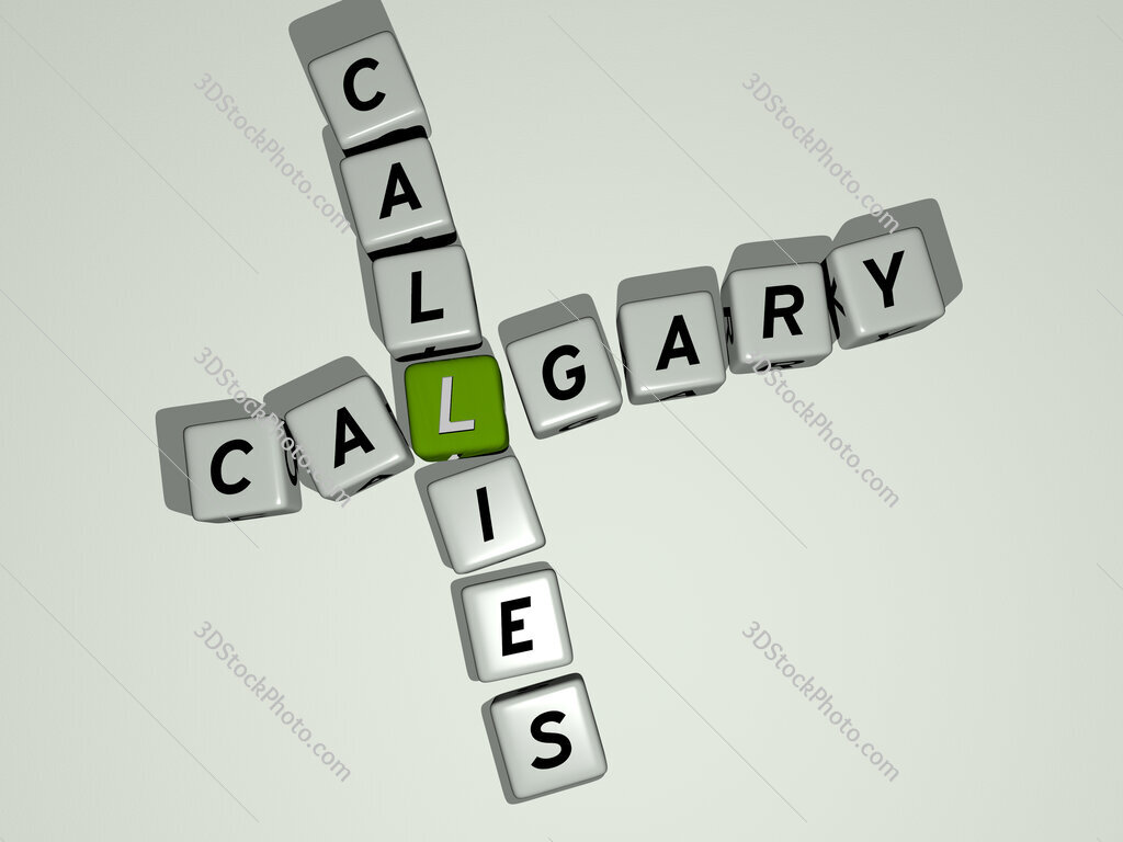 Calgary Callies crossword by cubic dice letters