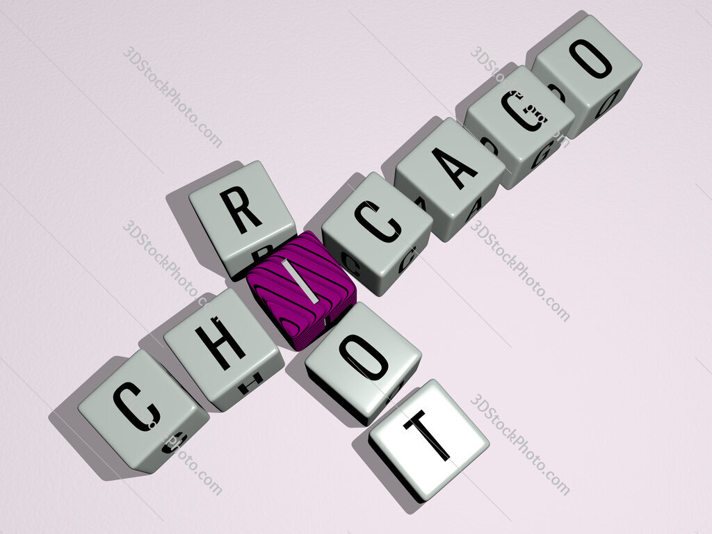 Chicago Riot crossword by cubic dice letters