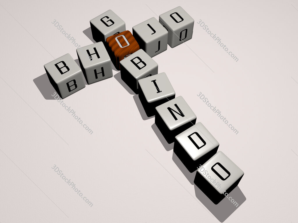Bhojo Gobindo crossword by cubic dice letters