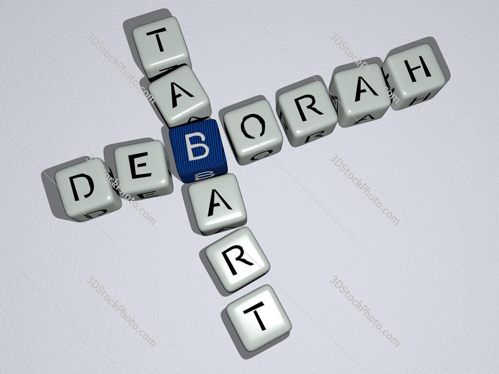 Deborah Tabart crossword by cubic dice letters