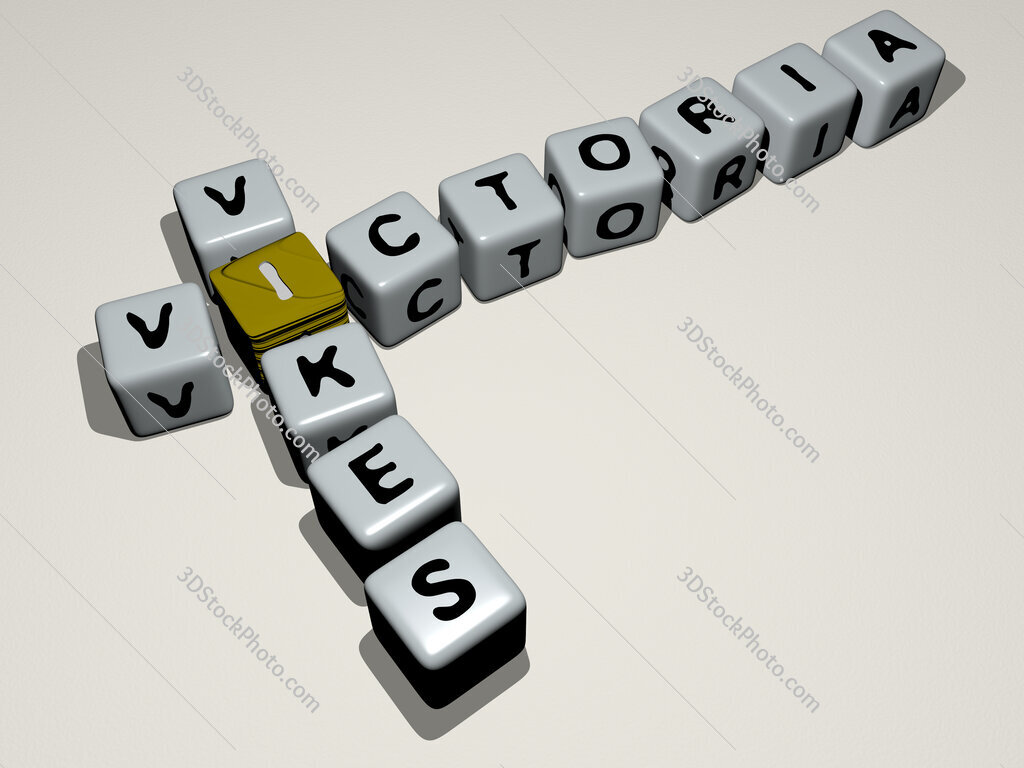 Victoria Vikes crossword by cubic dice letters