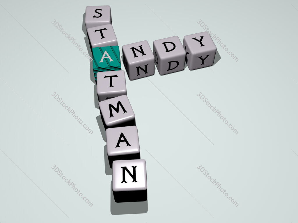 Andy Statman crossword by cubic dice letters
