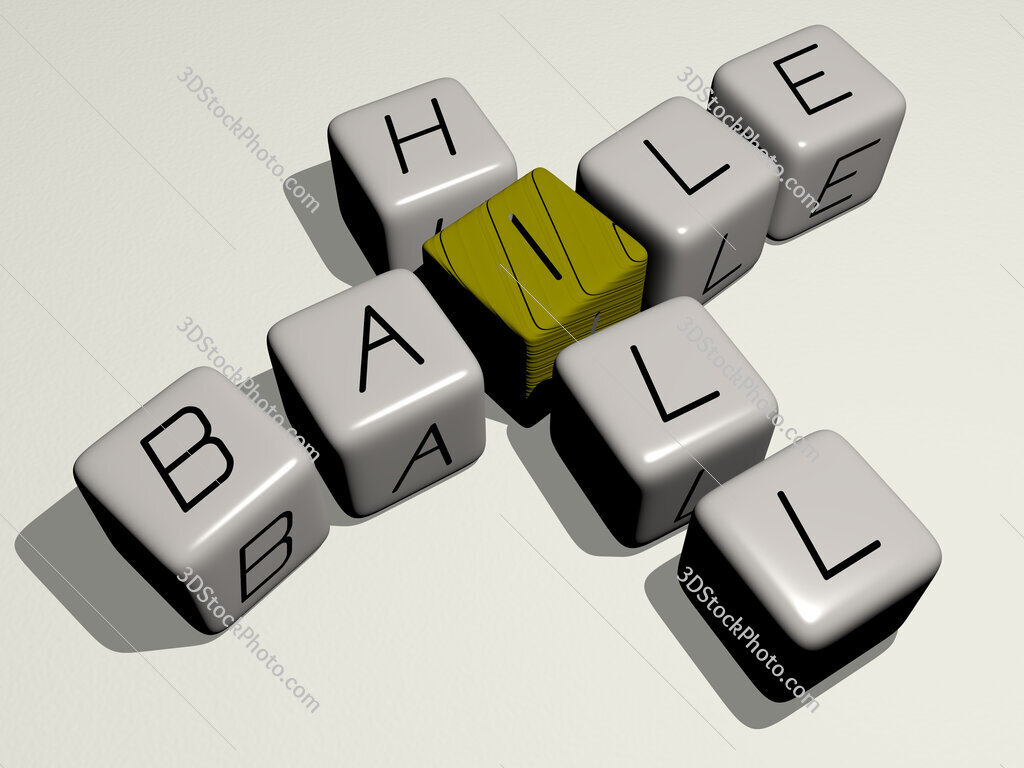 Baile Hill crossword by cubic dice letters