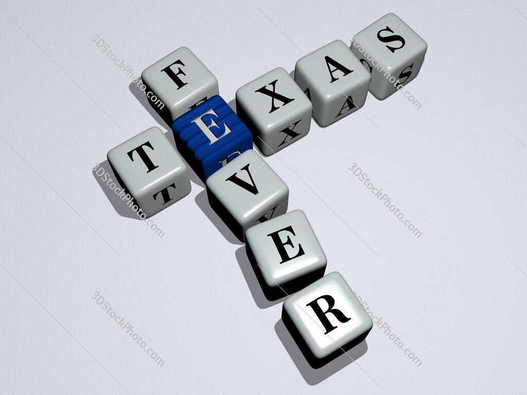 Texas Fever crossword by cubic dice letters